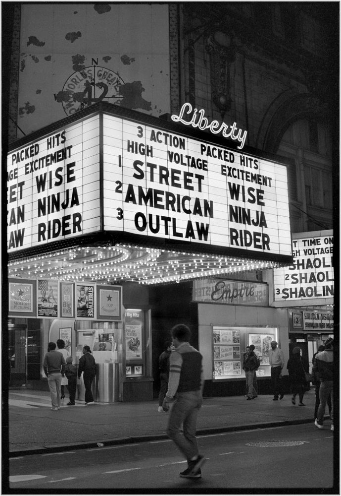 GRINDHOUSE THEATERS: The Liberty, 42nd Street, NYC