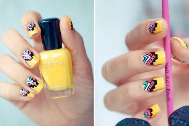 25 Crazy Summer Nail Design Ideas | Style Motivation