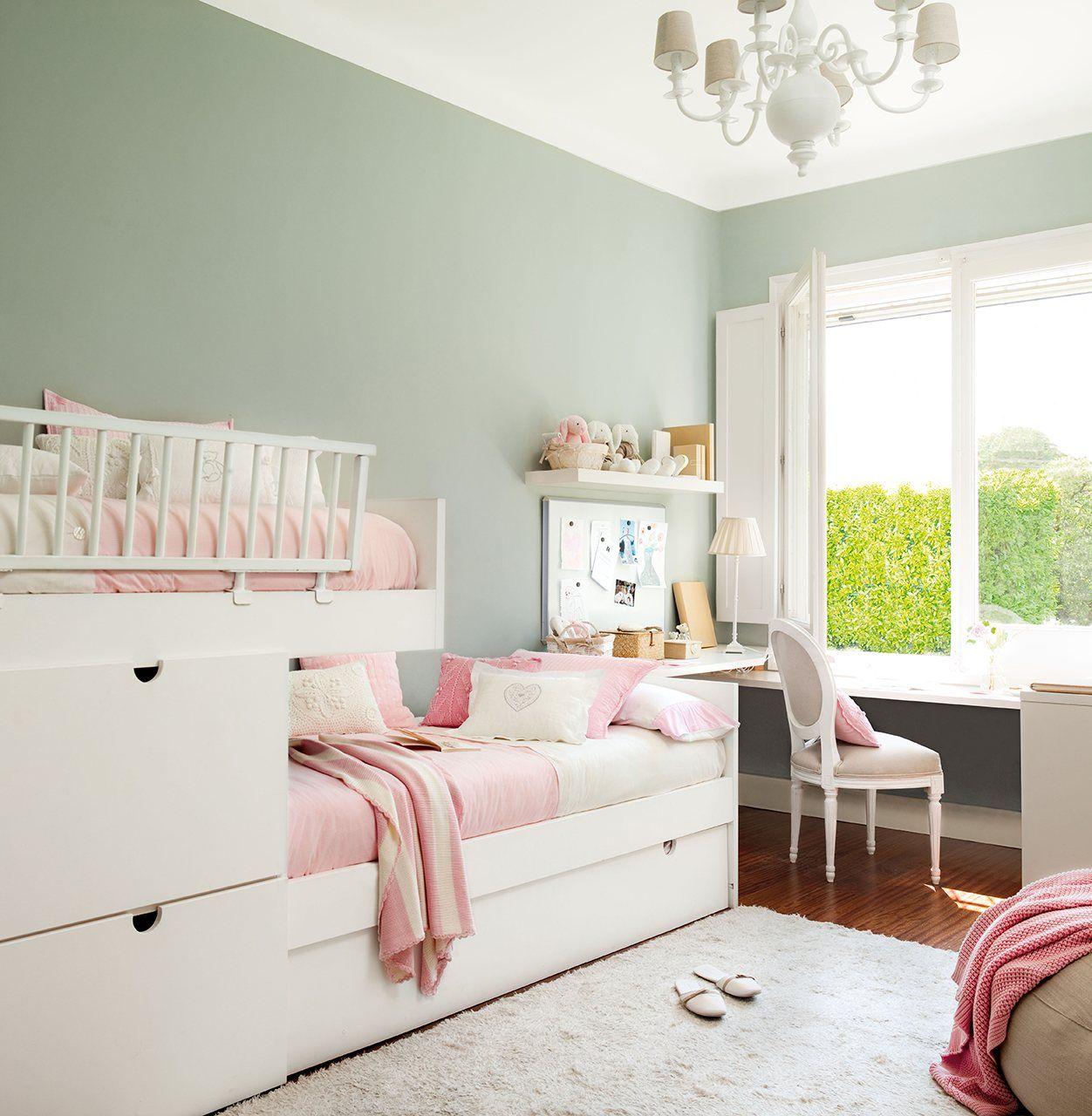 10 habitaciones infantiles bien organizadas for Cuartos infantiles nina