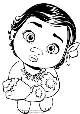 Resultado De Imagen Para Moana Bebe Dibujo Dibujo De Bebe