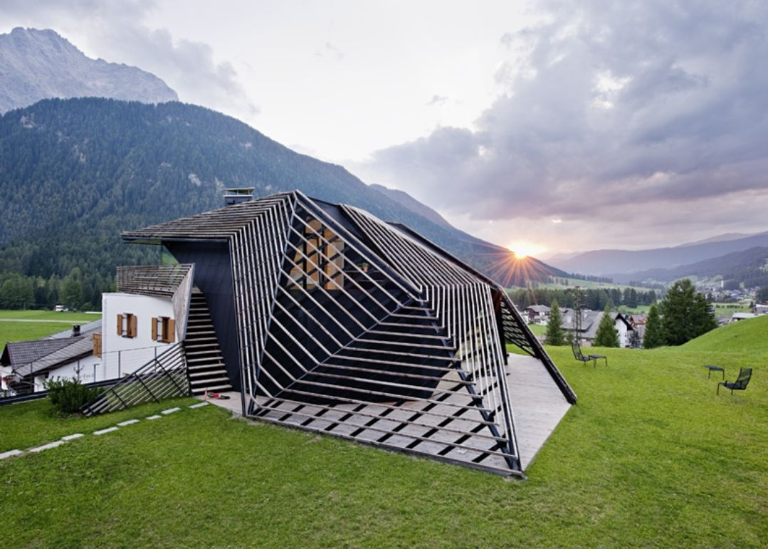 Architizer - How A+ Winners Plasma Studio Are Redefining Alpine Architecture In One Small Mountain Village