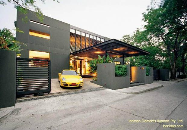 Modern House Minimalist Design ♥ minimalist home design thailand | for the home | pinterest