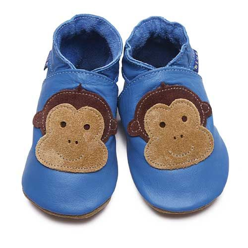 0-6 months New Inch Blue Cheeky Monkey Gift Set