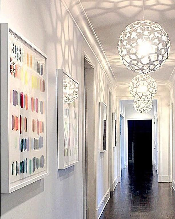 Three David Trubridge CORAL Pendant Lights, As Placed And Captured By  Interior Designer Tara Kanto