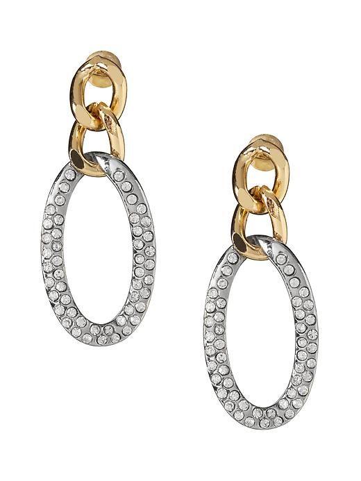 Gilded Hoop Earring