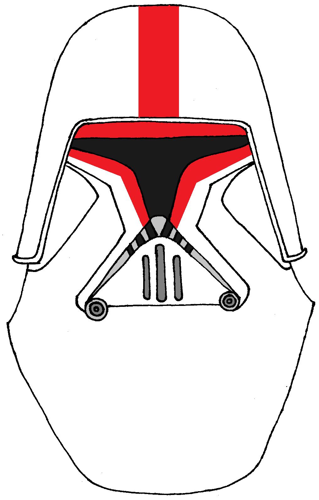 Clone Trooper Helmet 44th Special Operations Brigade