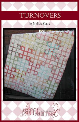 Happy Quilting: Turnovers - A New Pattern (Retail Pattern)