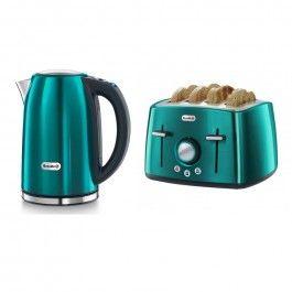 Breville Rio Teal 2 Slice Toaster