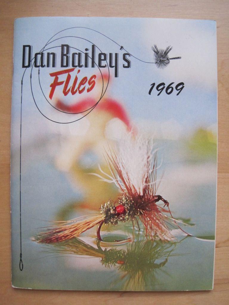 1969 Dan Bailey Flies Catalog Fly Fishing Art Fly Fishing Fly Tying Gear