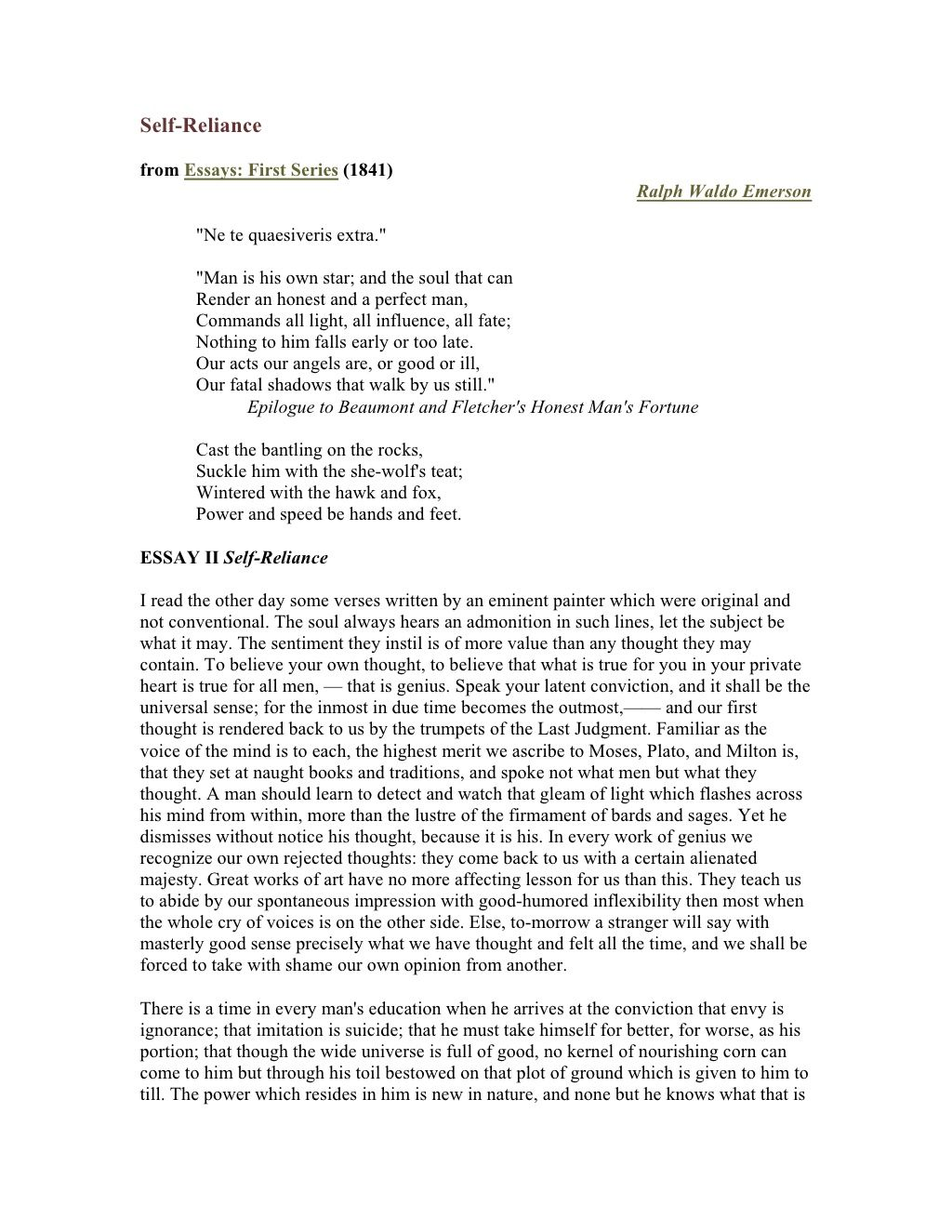 Essay about my family history