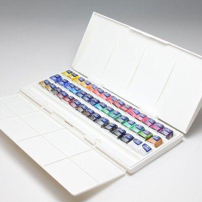 Windsor Newton Cotman Watercolor Half Pan Studio Set Drawing