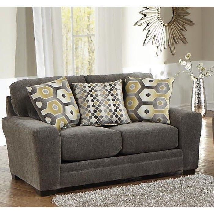 Best Sax Living Room Sofa Loveseat Grey 3297032844 Conn S Homeplus Mattress Furniture 400 x 300