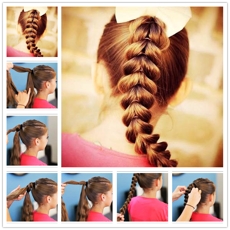 How to Make Easy Cool Braided Hairstyles | Braid hairstyles, Hair ...