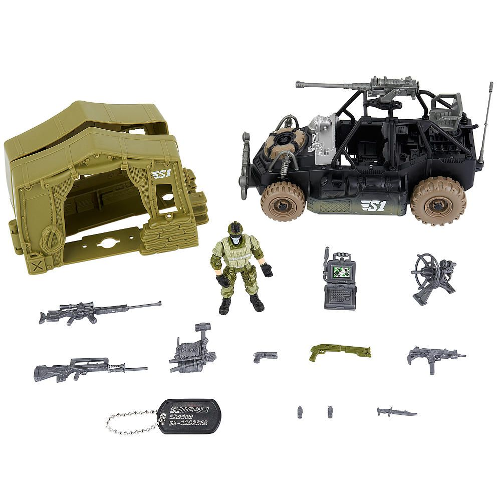 True Heroes Sentinel 1 Playset Mobile Squad Dune Buggy Toys R
