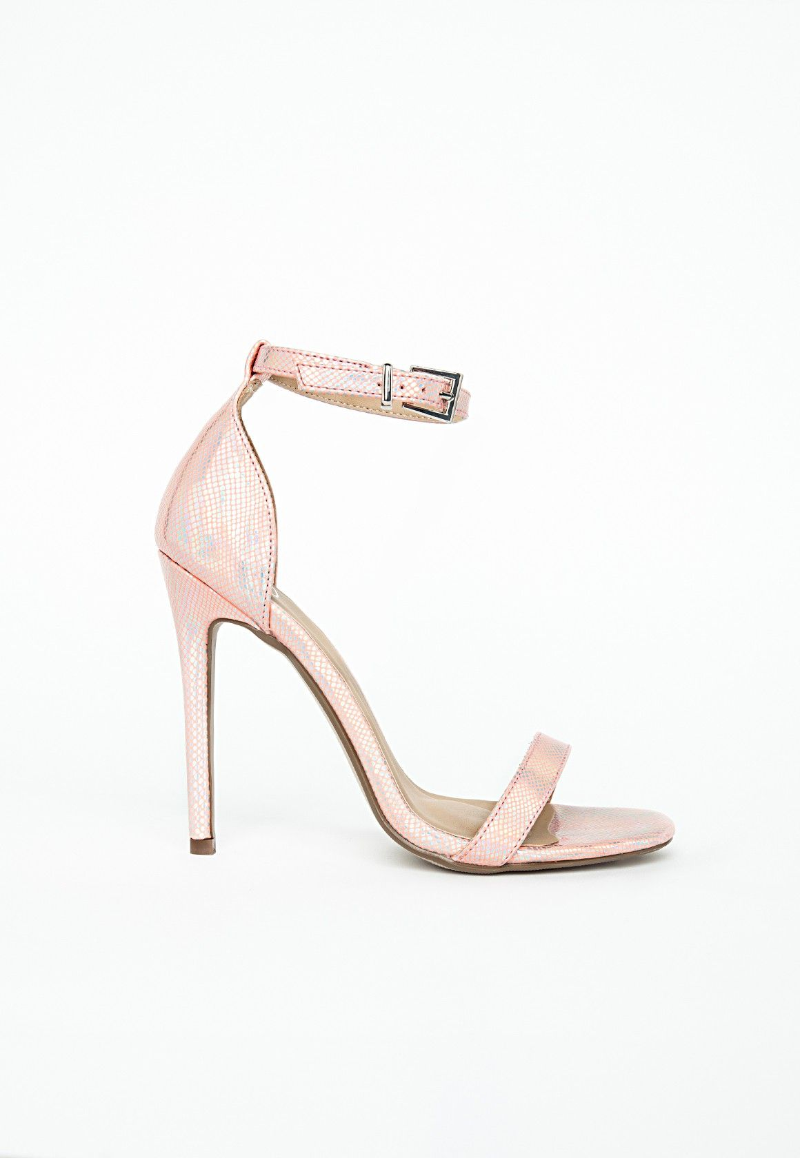 d88b7ddddb missguided barely there sandal pearl   Shoe Dazzle!   Sandals, Shoes ...