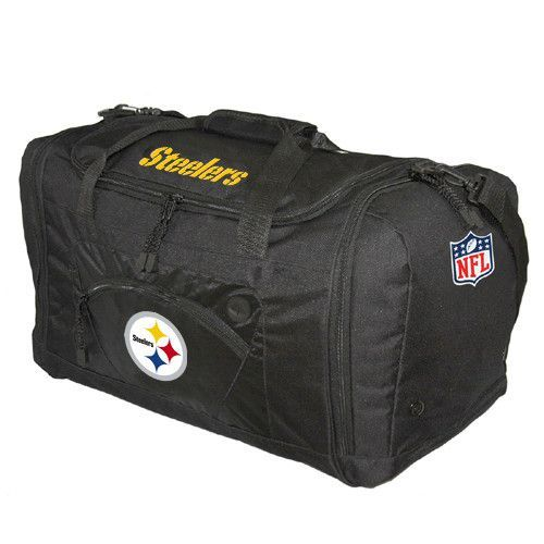 3d3a22af7153 Pittsburgh Steelers NFL Roadblock Duffle Bag (Black)