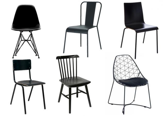 Assortir des chaises dépareillées : nos idées déco