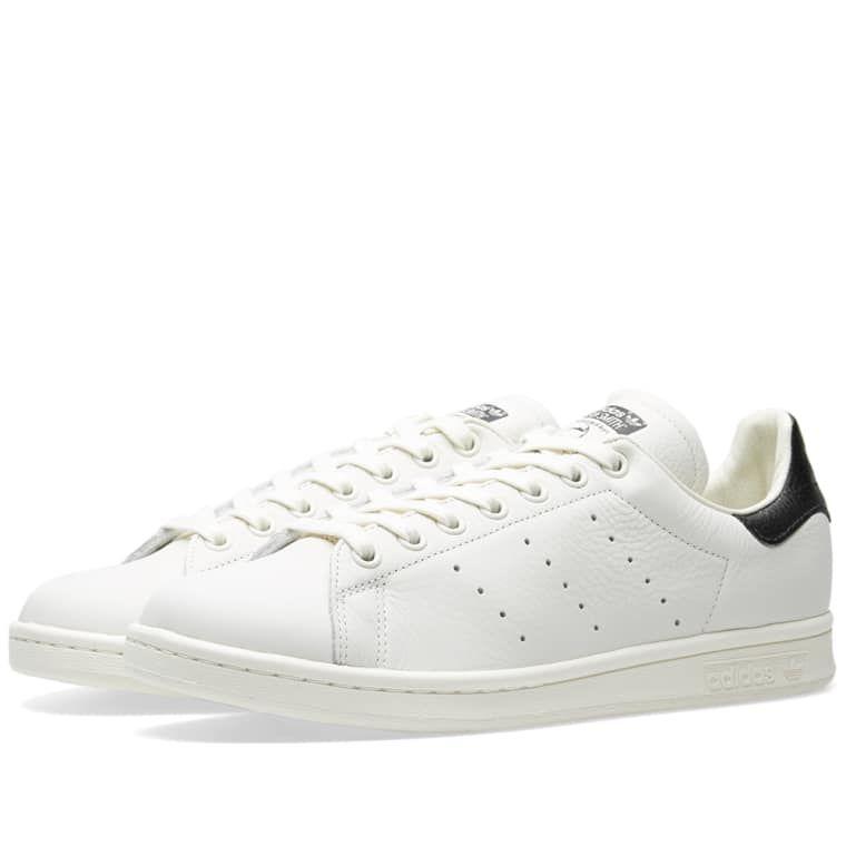33df8224f Adidas Stan Smith Premium Chalk White   Core Black 1