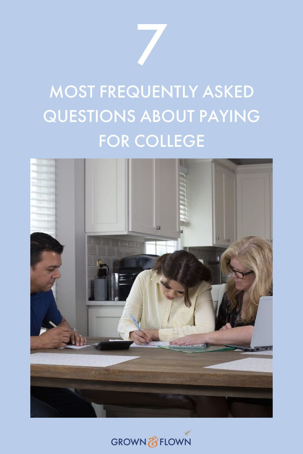 Seven Most Frequently Asked Questions About Paying For College In 2021 This Or That Questions Working Mom Blogs Parenting Bloggers