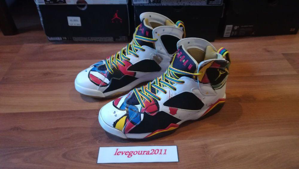 eBay  Sponsored Air Jordan 7 VII retro MIRO Olympic 323213-161 Rare Limited  2000 pairs US8.5 83cbd225b0