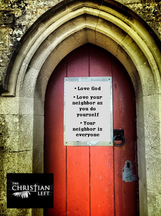 Your neighbor is everyone.