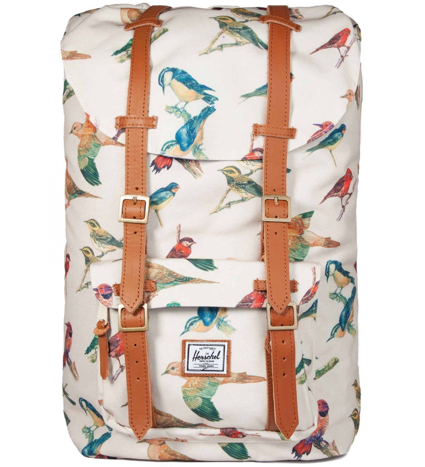 f46359b7a28 Bird Print Little America Backpack