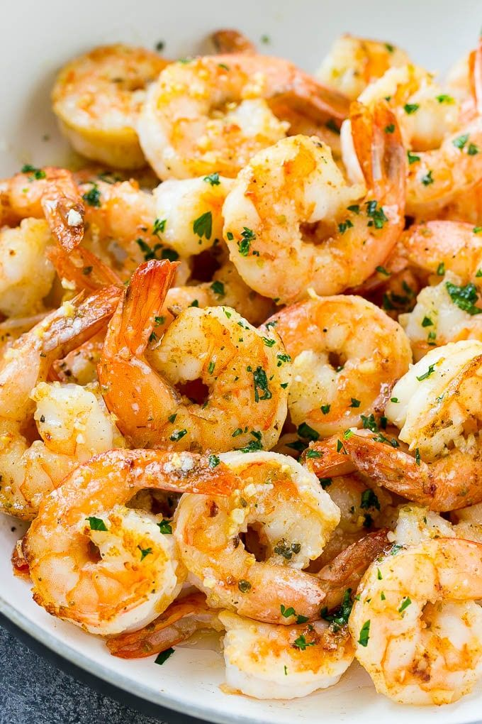Photo of Garlic Butter Shrimp – Dinner at the Zoo