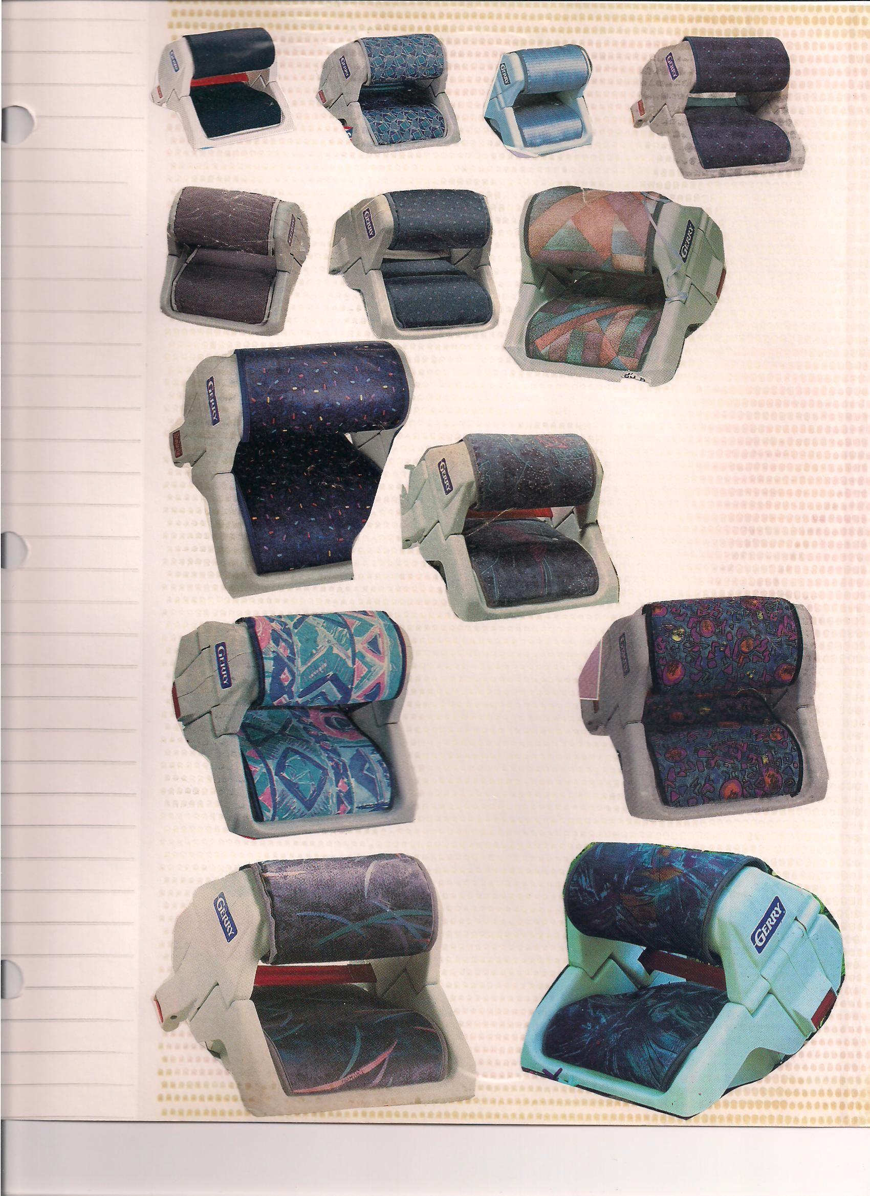 Gerry Boosters Vintage Car Seats Vintage Children