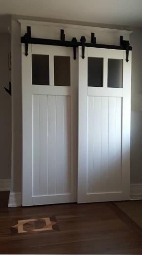 Bypass Barn Door Hardware Easy To Install Canada New House
