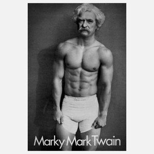 Marky Mark Twain 12x18 now featured on Fab.