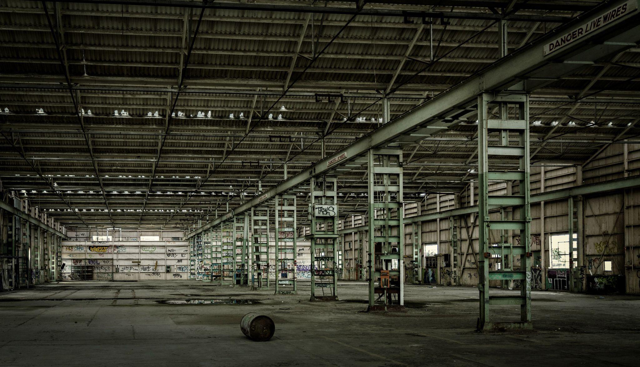 A Big Shed Big Sheds Shed Abandoned Warehouse
