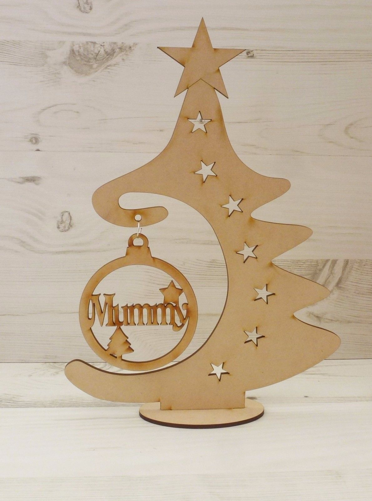 Tree Christmas Bauble Hanger Free Standing Plaque Art Mdf Wooden View More On Modern Christmas Ornaments Mdf Christmas Decorations Diy Christmas Baubles