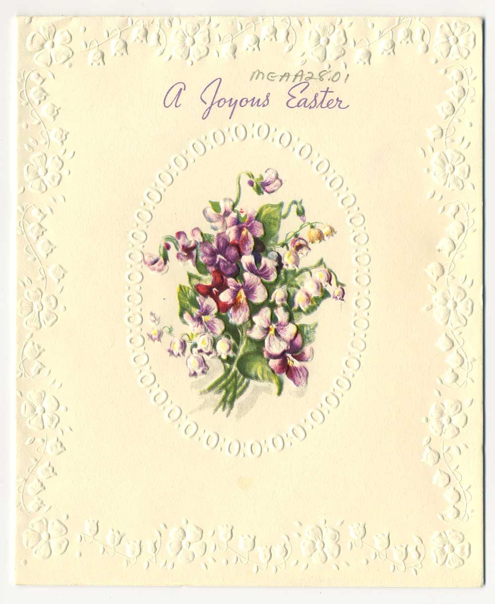Vintage Easter Cards Cardinal Mcguigan Fonds The Archivists