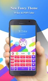 XColor GO Keyboard Theme Emoji App play, Application