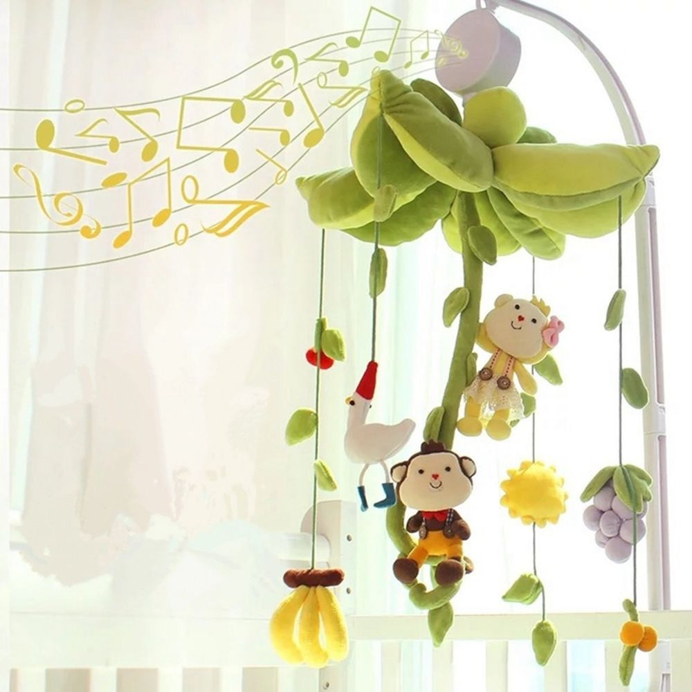 Kids Music Box DIY Baby Mobile Crib Bed Toy Exercise Movement Hearing Tools New