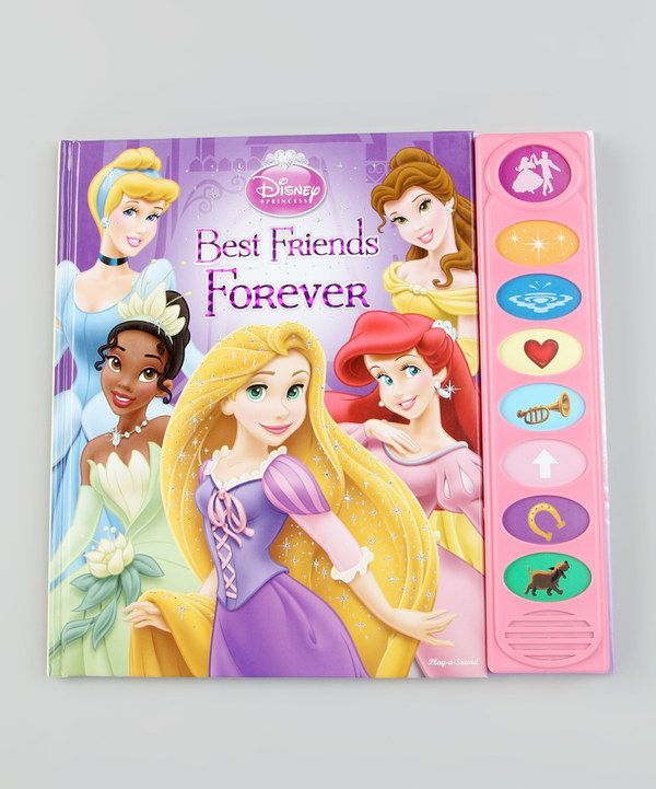 Take a look at this Disney Princess Best Friends Forever Songbook Hardcover on zulily today!