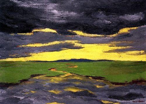 Twilight  Emile Nolde - 1916