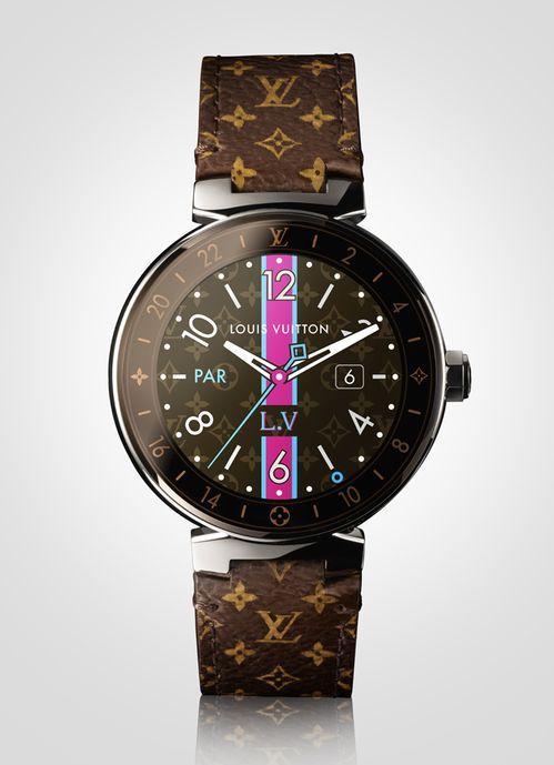 Louis Vuitton lance sa première montre connectée   Bijoux et Montres ... e4ab6ad70ac8