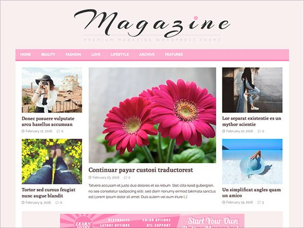 Pin de dezignHD en WordPress Themes, Themes, Templates | Pinterest