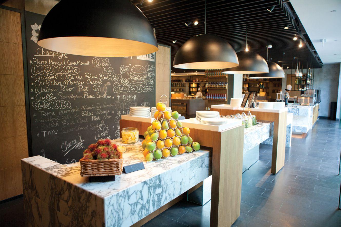 Buffet Design Restaurant Hotel