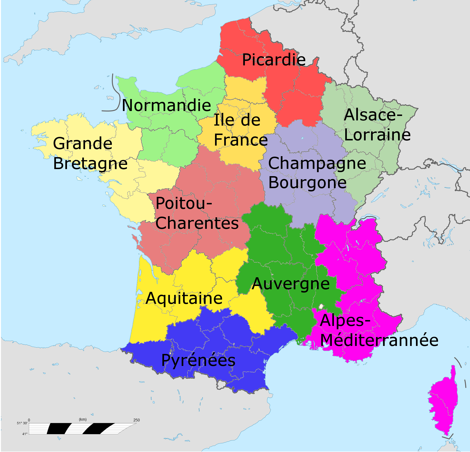 Pin by WriteStuff on WS Ref. (Locale) France Map