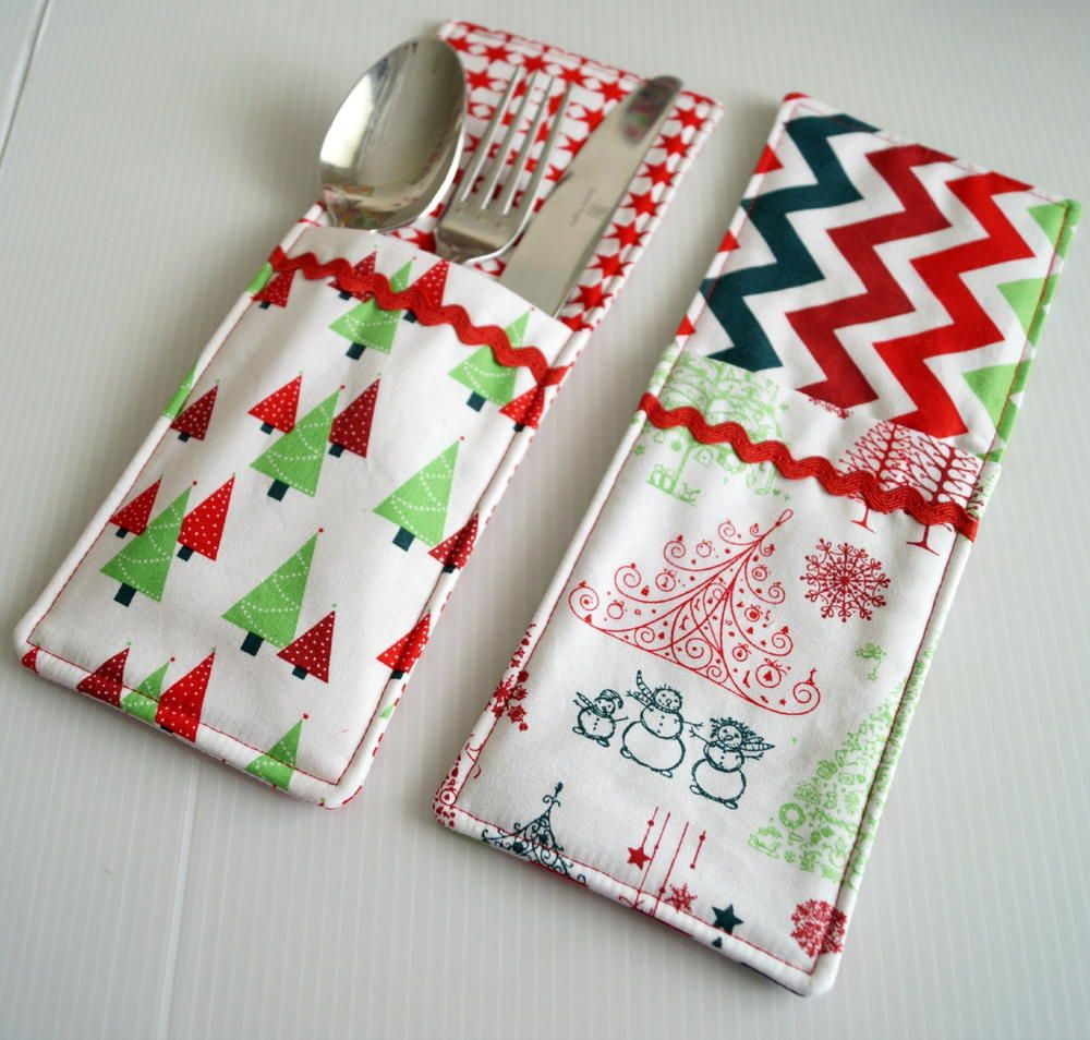Cutlery Pockets Sewing Pattern