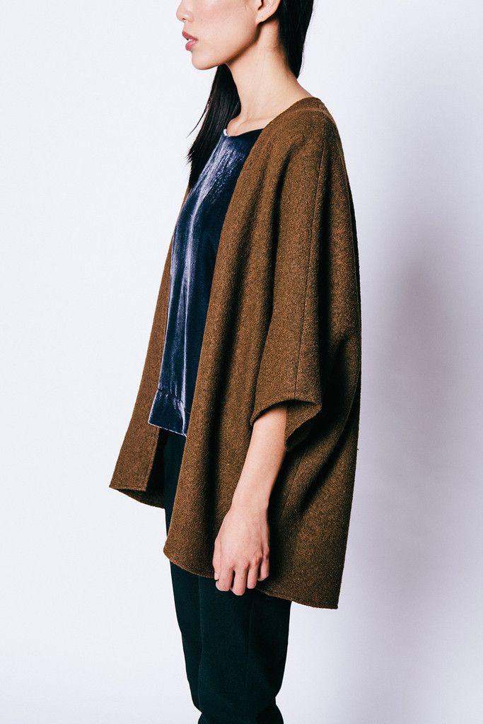 Emma Wool Kimono made in Nashville by Elizabeth Suzann | American ...