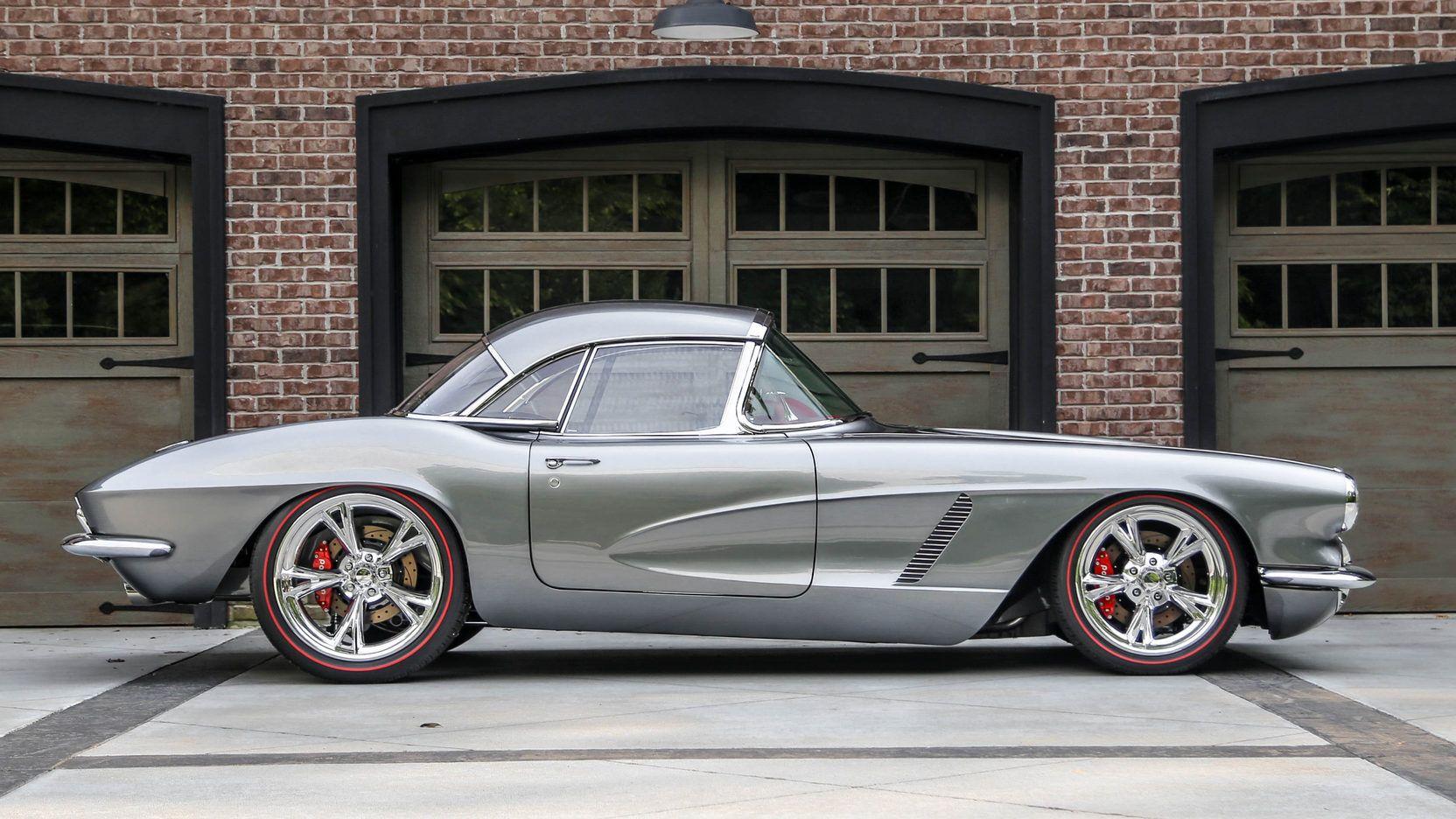 1962 Chevrolet Corvette Resto Mod Presented As Lot S102 1 At Dallas Tx Classic Cars Chevrolet Corvette Corvette