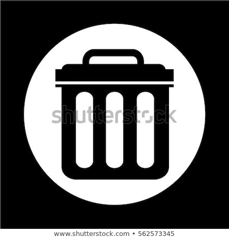Trash Can Icon Icon Trash Can Royalty Free Photos
