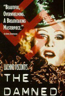 Luchino Visconti The Damned movie poster 2