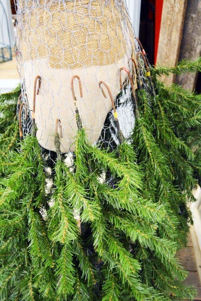 Dress Form Christmas Tree Skirt Mannequin Christmas Tree