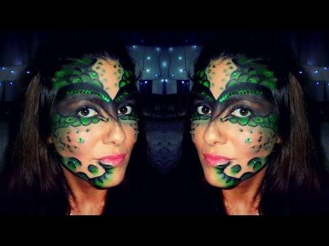 maquillaje de lagarto mujer Buscar con Google (con