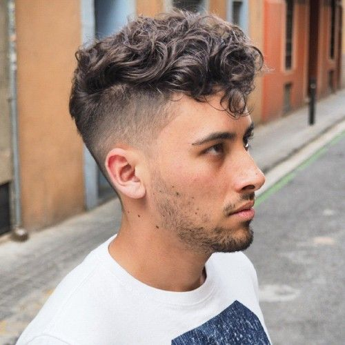 25 Spectacular Blowout Haircut Ideas For Men High Trend Curly Hair Men Curly Hair Fade Men S Curly Hairstyles