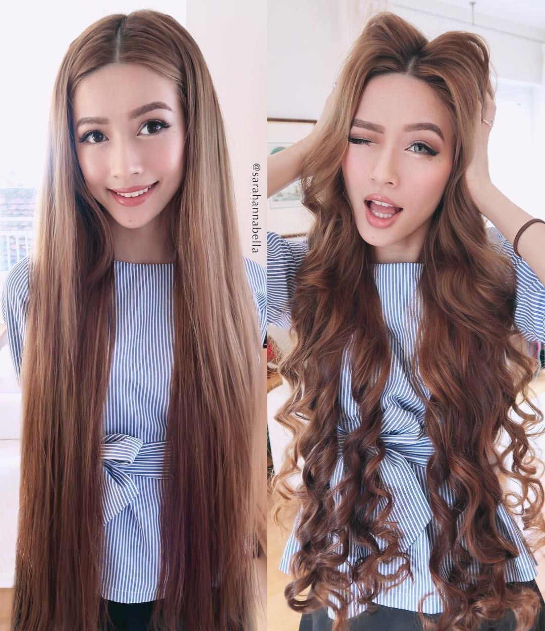 When I Wear My Hair Straight I Sometimes Forget That I Am Indeed 24 Years Old What Do You Prefer On Me Straight Really Long Hair Long Hair Styles Hair Styles
